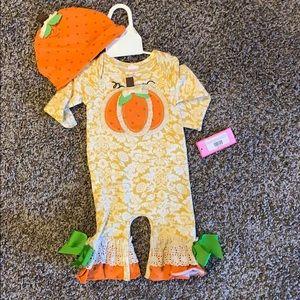 Peaches N' Cream infant Romper
